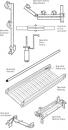 Aluminium Räckesstolpe, till 5 meters Spandeck