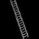 Aluminiumstege, 2-delad 8,0 meter
